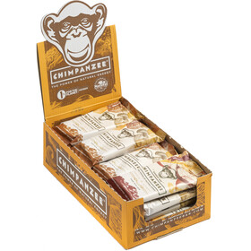 Chimpanzee Energy Bar Box Vegan Apfel & Ingwer 20 x 55g